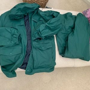 ✅ columbia sportswear  apparel jacket and pants L